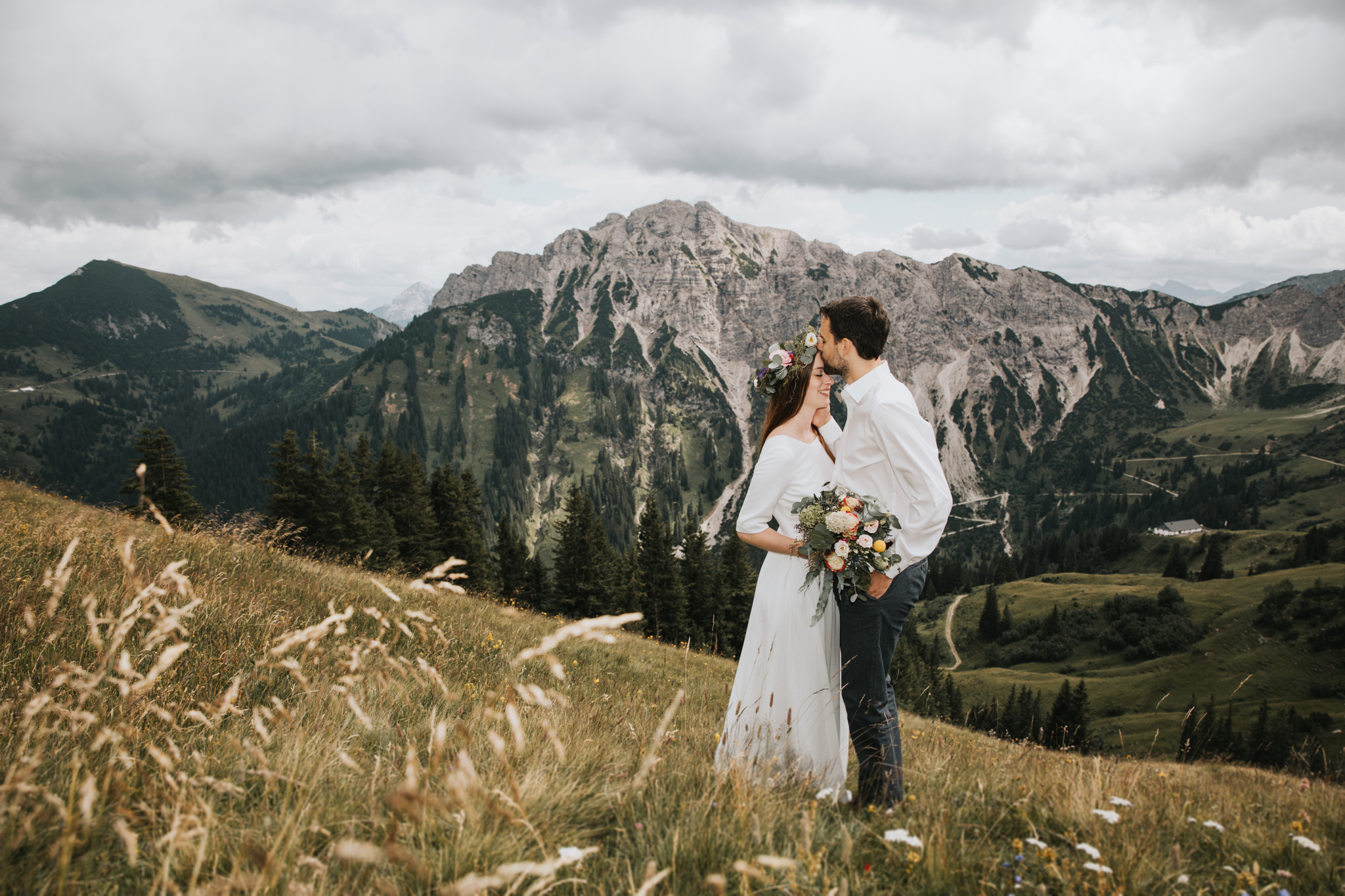 Hochzeit in Tirol, Fotograf Deutschland, Brautpaarbilder, Brautpaarfotos, Elopement Austria